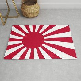 Naval Ensign of Japan Rug