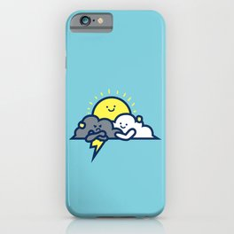 Cloud Hug iPhone Case