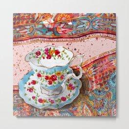 Teacup 1 Metal Print