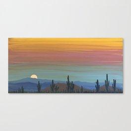 Arizona Moonrise Canvas Print