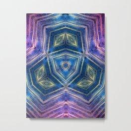 Accelerate Metal Print