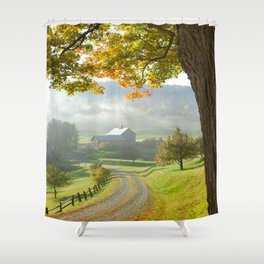 COUNTRY ROAD1 Shower Curtain