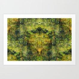 Jungle Flute Art Print