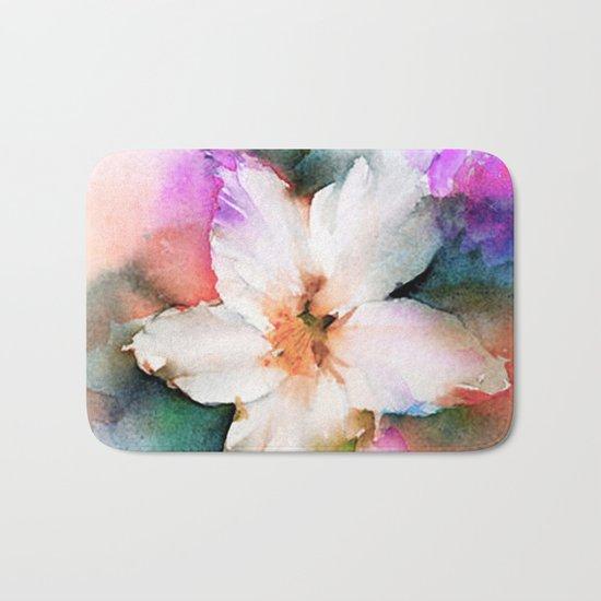 FLOWER PATTERN13 Bath Mat