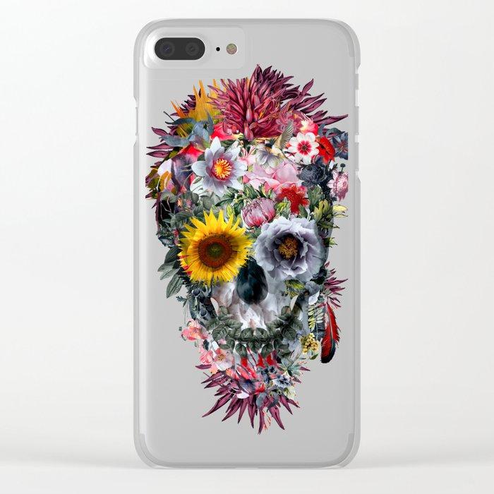 Voodoo Skull Clear iPhone Case