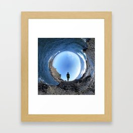 Perpendicular To Everything Framed Art Print