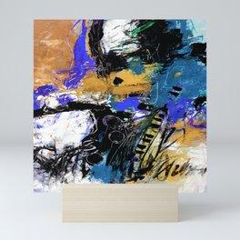 Jazzy Emotions No.1H by Kathy Morton Stanion Mini Art Print