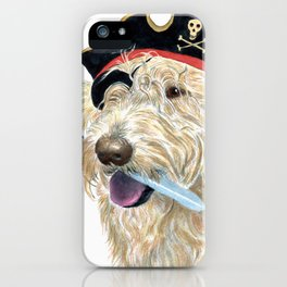 Labradoodle Pirate iPhone Case