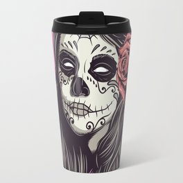 Mexican skull Travel Mug