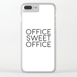 Gift For Boss Inspirational Print Wall Art Quotes For Wall PRINTABLE ART Office Desk Office Decor Clear iPhone Case