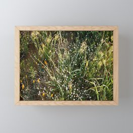 """El Grass"" Framed Mini Art Print"