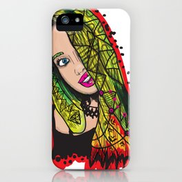 gril iPhone Case