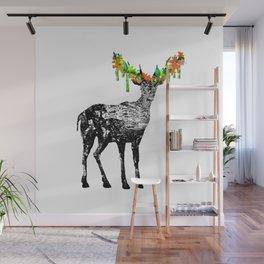 Fallow deer Wall Mural