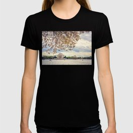 Jefferson Memorial and Cherry Blossoms T-shirt