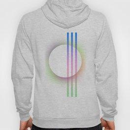 """ Soft Circle"" scandinavian geometric minimalist Hoody"