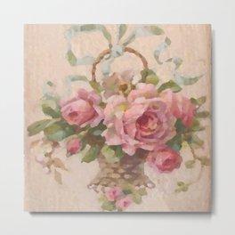 Bountiful Rose Blossoms Metal Print
