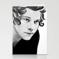 harry Stationery Cards featuring Harry by GirlApe