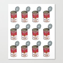 Tomato Soup Can Canvas Print
