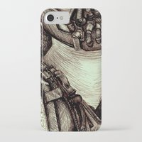 bane iPhone & iPod Cases featuring Bane by Christina Romano