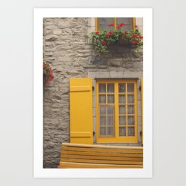 Quebec Art Print
