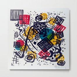 Wassily Kandinsky Small Worlds V Metal Print