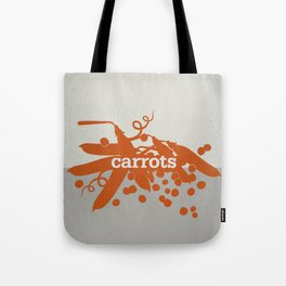 Carrots/Peas Tote Bag