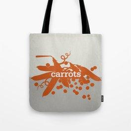 Carrots/Peas Tote Bag