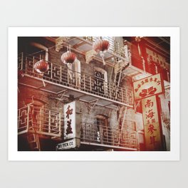 Chinatown, SF Art Print