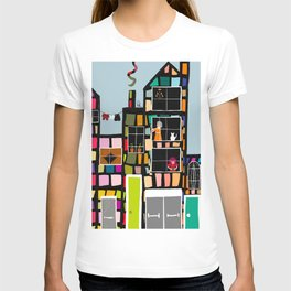At Home In The City T-shirt
