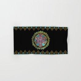 Endless Knot in Mandala Lotus shape Hand & Bath Towel