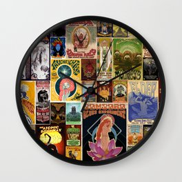 Stoned Patchwork Wall Clock