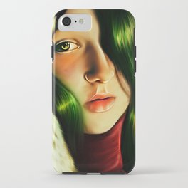 Lady Christmas iPhone Case