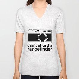 Can't Afford A Rangefinder Unisex V-Neck