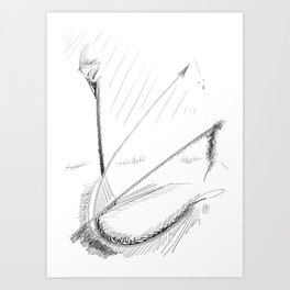 Abstract Landscape #1 Art Print