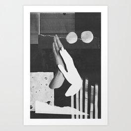 Hands 002 Art Print