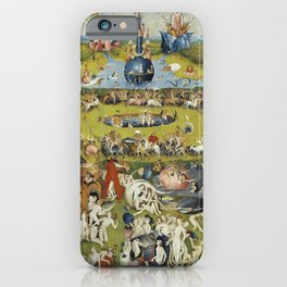 THE GARDEN OF EARTHLY DELIGHT - HEIRONYMUS BOSCH iPhone Case