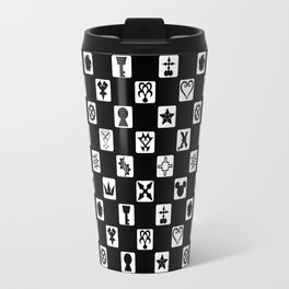 Kingdom Hearts Grid Travel Mug