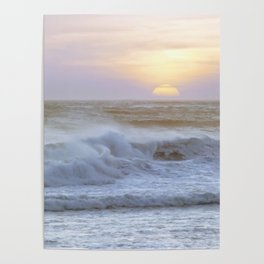 Pacific Ocean Seascape #71 by Murray Bolesta Poster