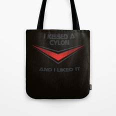 I Kissed a Cylon Tote Bag