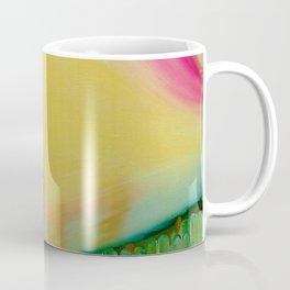"""Ciao"" Original oil finger painting by Monika Toth Coffee Mug"