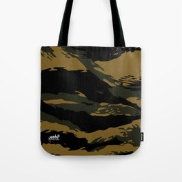 Green Tiger Camouflage Tote Bag