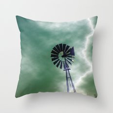 Blown Away Throw Pillow