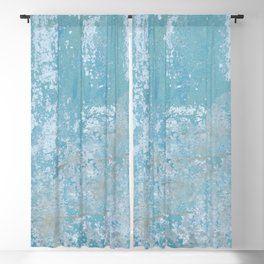 Vintage Galvanized Metal Blackout Curtain