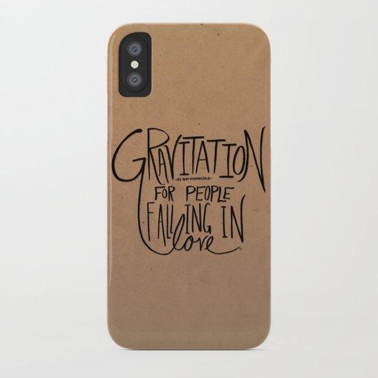 Gravitation iPhone Case
