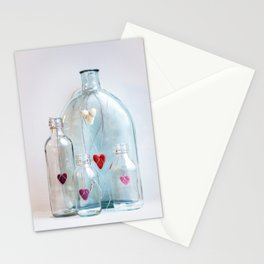 Bottles with love Stationery Cards