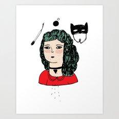 TAMED Art Print