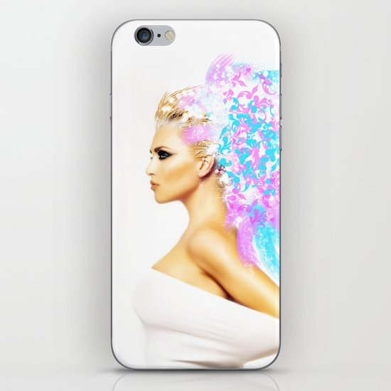 THE BRIGHT SIDE OF AN ANGEL iPhone & iPod Skin