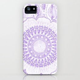 Indian Decoration Vector iPhone Case