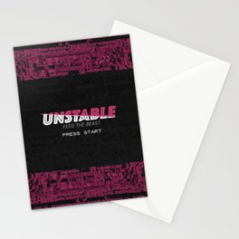 Unstable Stationery Cards