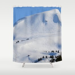 Back-Country Skiing  - III Shower Curtain